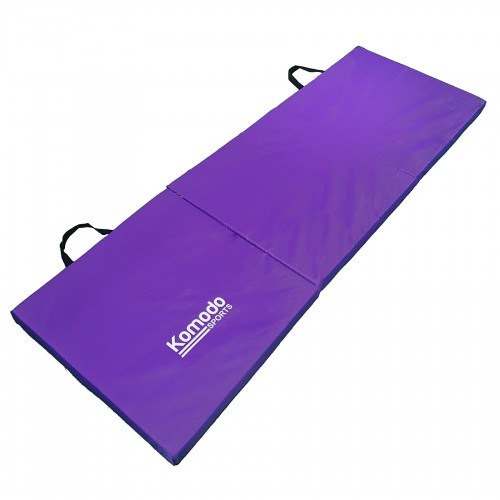 Komodo Tri Folding Gym Mat Purple