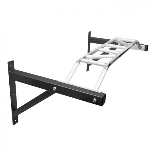 Komodo Wall Mounted Pull Up Bar Black