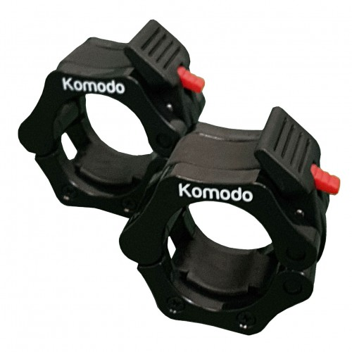 Komodo 2 Inch Spring Bar Collar - Black