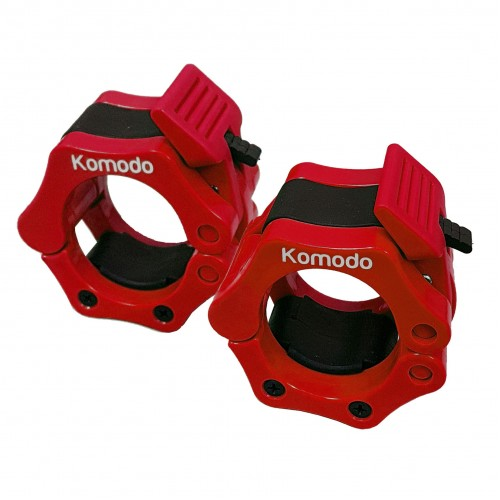 Komodo 2 Inch Spring Bar Collar - Red