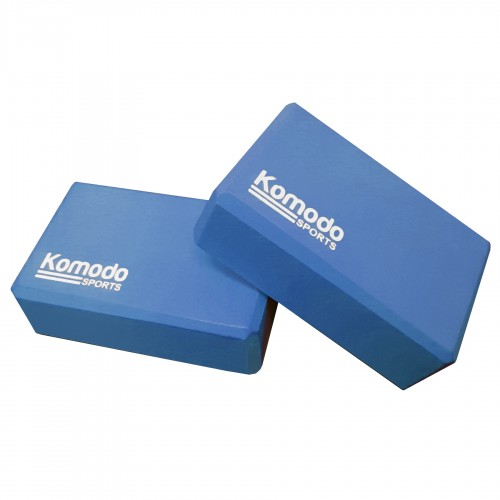 Komodo Yoga Block x2 - Blue