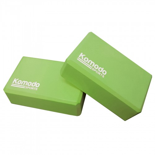 Komodo Yoga Block x2 - Green
