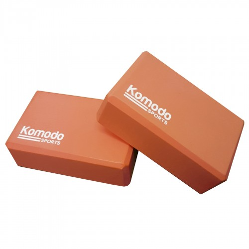 Komodo Yoga Block x2 - Orange