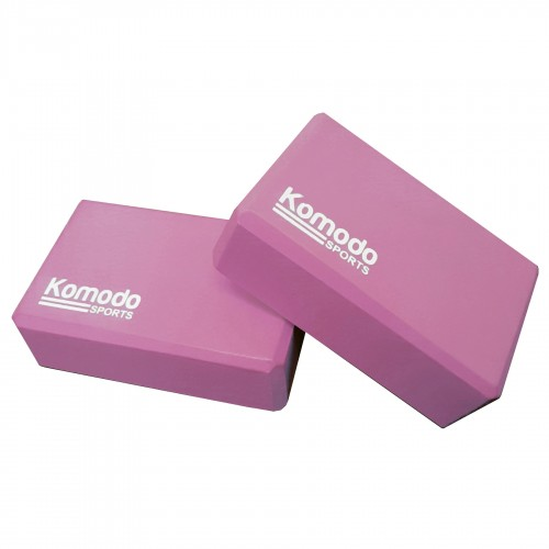 Komodo Yoga Block x2 - Pink