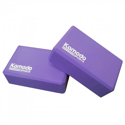 Komodo Yoga Block x2 - Purple