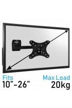Komodo 10-26 TV Bracket - VESA 75MM TO 100MM