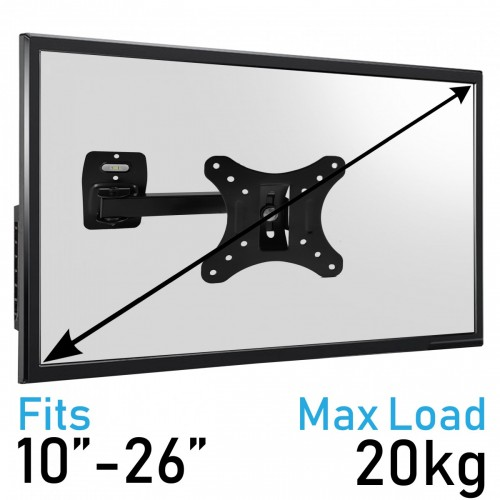 Komodo 10-26 TV Bracket - VESA 75MM TO 100MM