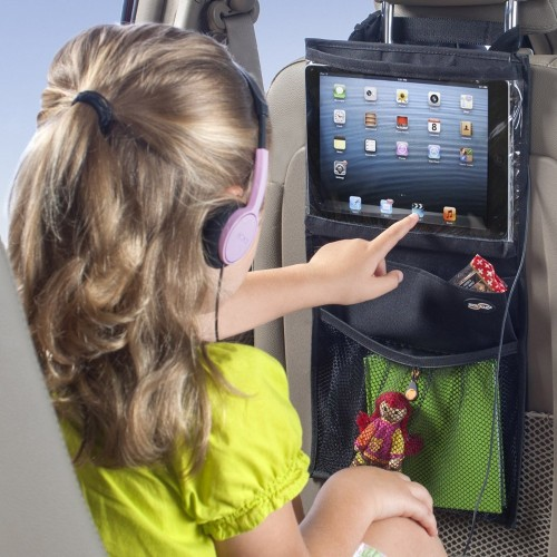 Car Back Seat Organiser with iPad / Tablet Storage