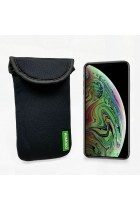 Apple iPhone XS MAX Neoprene Case Sock Phone Pouch Smartphone Cover Black