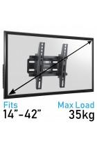 Komodo 14-42 TV Bracket - VESA 75mm TO 200mm