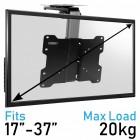 Heavy Duty TV Folding Wall Bracket